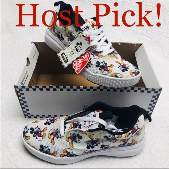 Vans Shoes   Hp Disney Mickey Mouse